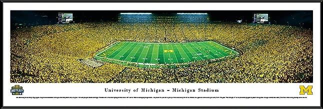 Michigan Football - Under The Lights - 2013 50 Yard Line - Blakeway Panoramas Print