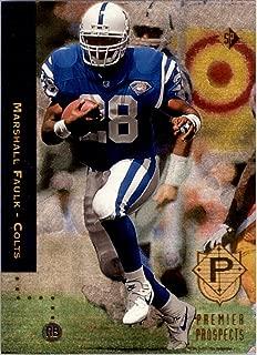 1994 SP #3 Marshall Faulk RC FOIL Rookie Card - NM-MT