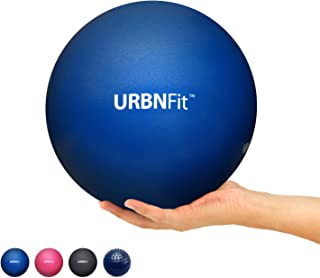 URBNFit Mini Pilates Ball - Small Exercise Ball for Yoga, Pilates, Barre, Physical Therapy, Stretching and Core Fitness - ...
