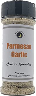 Premium | PARMESAN GARLIC Popcorn Seasoning | Large Shaker | Fat Free | Saturated Fat Free | Cholesterol Free | Sugar Free | Crafted in Small Batches with Farm Fresh Herbs for Premium Flavor and Zest