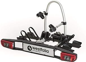 Westfalia BC 60 (model 2018) fietsendrager voor de trekhaak, inklapbare koppelingsdrager voor 2 fietsen, universele fietse...