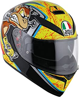 AGV K3 SV Bulega Motorcycle Helmet Size Medium-Small - DOT-Approved