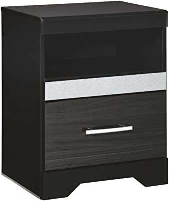 Signature Design by Ashley Starberry Nightstand, Black