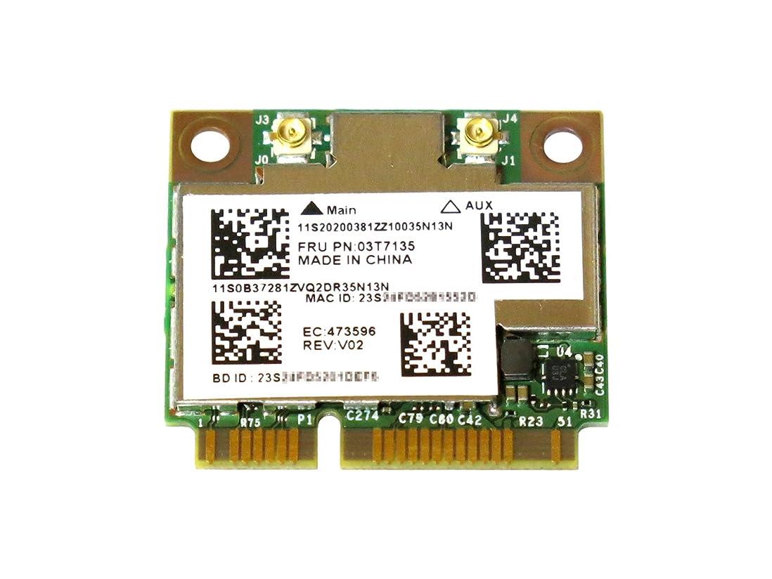 十分確実管理するLenovo純正 20200381 03T7135 Broadcom BCM94352HMB BCM4352 802.11a/b/g/n/ac 867Mbps WLAN + Bluetooth 4.0 無線LANカード for Lenovo IdeaPad Y410p Y510p