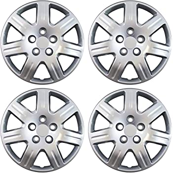 Hubcaps fits 14-15 Honda Civic 16 Inch Silver Replacement Wheel Cover Rim