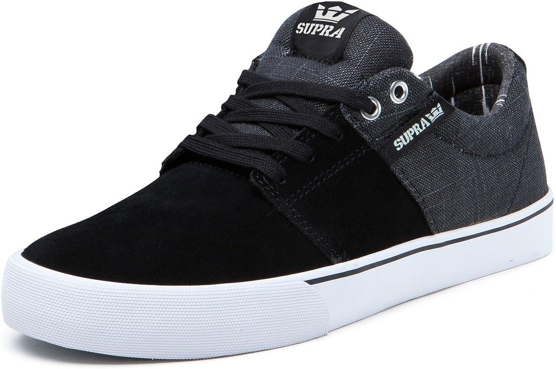 Supra Stacks shoes Black Grey 7
