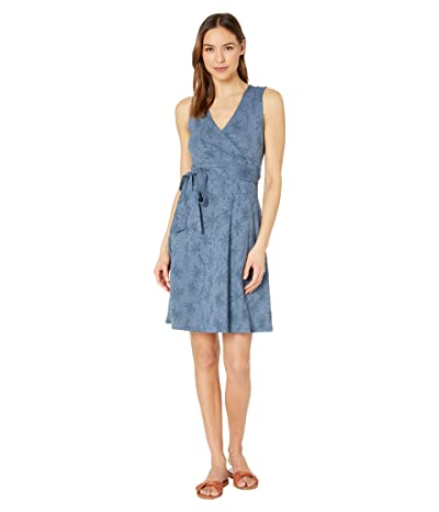 Toad&Co Cue Wrap Sleeveless Dress (High Tide Airy Floral Print) Women