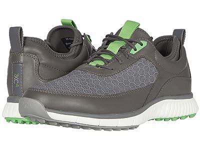 Johnston & Murphy XC4(r) Golf H1-Sport Hybrid Sneaker (Gray Mesh/Waterproof Full Grain) Men