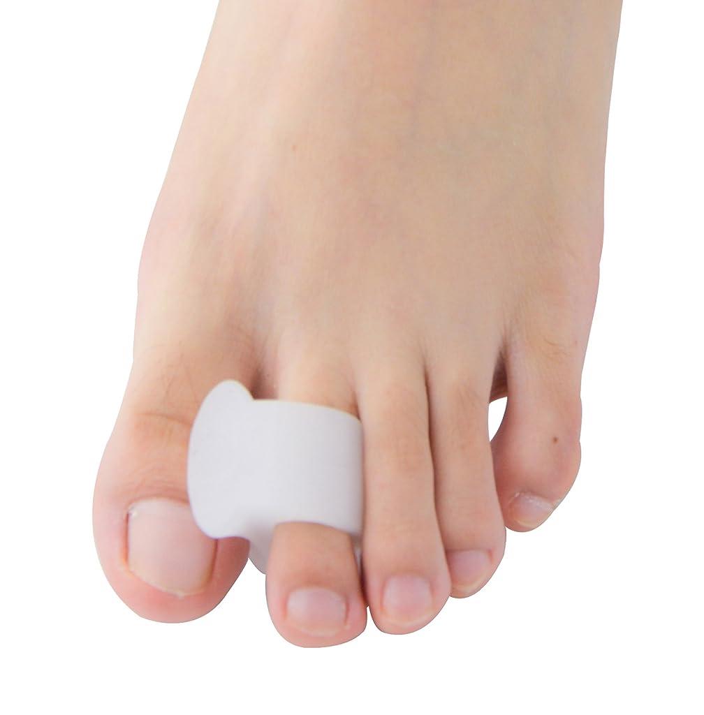 クロニクル評価可能バスルームPovihome ソフトゲル外反母趾セパレーターつま先バニオンプロテクターパッド,柔らかゲルでやさしくサポート (10個入り)