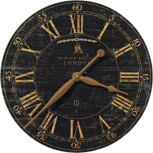 wholesale Uttermost online sale Bond new arrival Street 18-Inch Wall Clock outlet sale