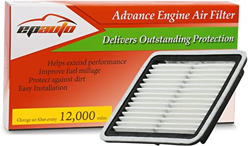 new arrival EPAuto lowest GP997 (CA9997) Replacement for Subaru Extra Guard Panel Engine new arrival Air Filter for Impreza (2008-2016),Legacy(2005-2019),Outback(2005-2019),WRX(2015-2020),Forester(2009-2018),Tribeca(2008-2014) online