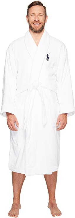 Tall Terry Shawl Robe