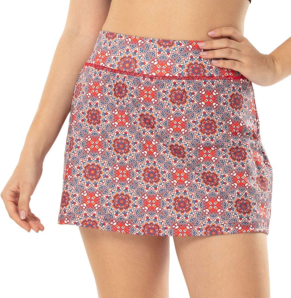 Challenge the lowest price ZEALOTPOWER Women's Quality inspection Active Performance Skorts Skirts Tennis for