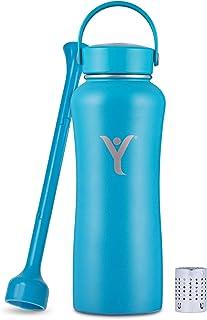 زجاجة مياه معزولة من ديلن   950 مل   تصنع ماء قلوي ممتاز أثناء التنقل   تحافظ على برودة لمدة 24 ساعة   زجاجة قابلة لإعادة ...