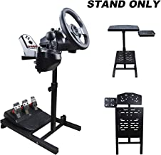 $89 » DWDZ Racing Wheel Stand Collapsible&Tilt-Adjustable Steering Wheel Stand for Thrustmaster, Logitech G29, G920, G27 & G25 W...