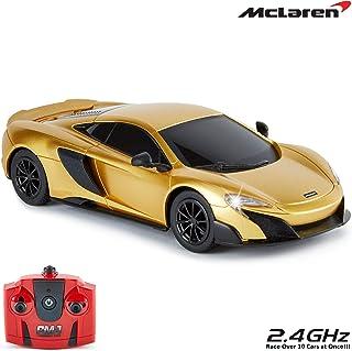 CMJ RC Cars 3 McLaren 675LT officieel gelicentieerde afstandsbediening auto 1:24 schaal werklampen 2.4 Ghz goud