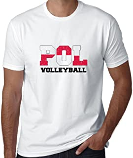 Hollywood Thread Poland Volleyball - Olympic Games - Rio - Flag Men's T-Shirt