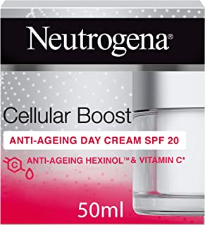 Neutrogena, Face Cream, Cellular Boost, Anti-Ageing Day Cream SPF 20, 50ml
