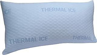 DHestia - Almohada Anticalor Refrescante Viscoelástica Cara Verano y Cara Invierno. ViscoCool (75 cm)