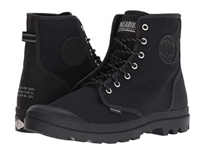 Palladium Pampa Solid Ranger BR (Anthracite/Moon Beam) Lace-up Boots