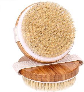 H&S 2 Body Brush Dry Skin Bath Shower Brush Back