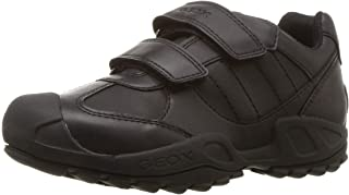Geox Kids' New Savage Boy 10 Durable Velcro Sneaker