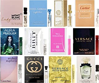 Designer Fragrance Samples Pour Femme - Sampler Lot x 12...