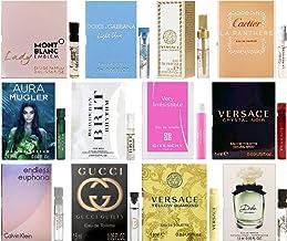 Designer Fragrance Samples Pour Femme – Sampler Lot x 12 Perfume Vials For Her (1.0)