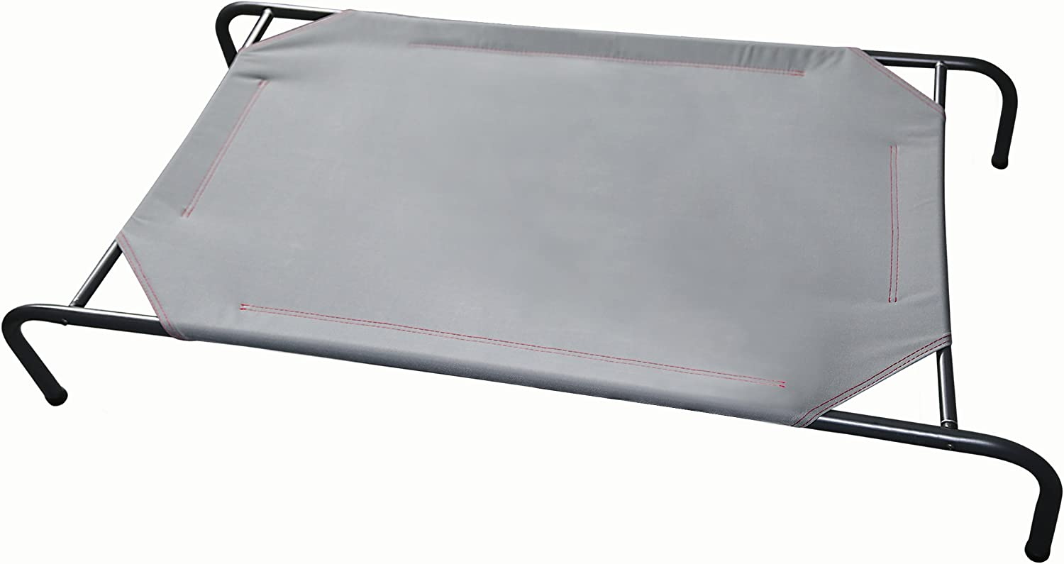 Raised Large Dog Bed Strong And Sturdy Frame (Dark Grey Frame)