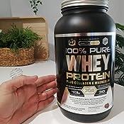 Whey Protein | Proteina whey pura con colágeno + magnesio | Tonifica y aumenta la masa muscular | Protege músculos y ayuda a la recuperación de los ...