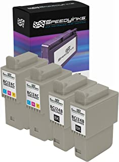 Speedy Inks Compatible Ink Cartridge Replacement for Canon BCI-24 and BCI-21 (2 Black, 2 Color, 4-Pack)