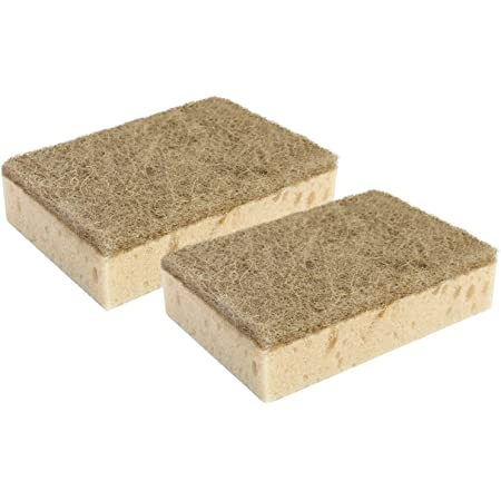 YORK Non-Abrasive Cleaning Scouring Sponge For Kitchen Eco 2 Pcs (030200)
