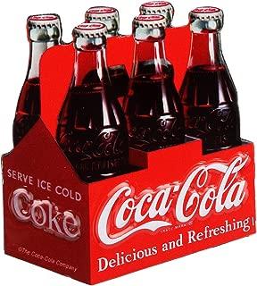 Open Road Brands Coca-Cola Six Pack Embossed Metal Magnet
