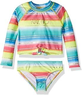 Girls' Rashguard Swim Suit Set