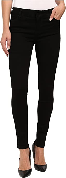 Abby Skinny Jeans in Black Rinse