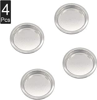4PCS Closet Door Finger Pull, Easy Snap-in Circular Sliding Door Pull, No Nails Needed, 1 3/4