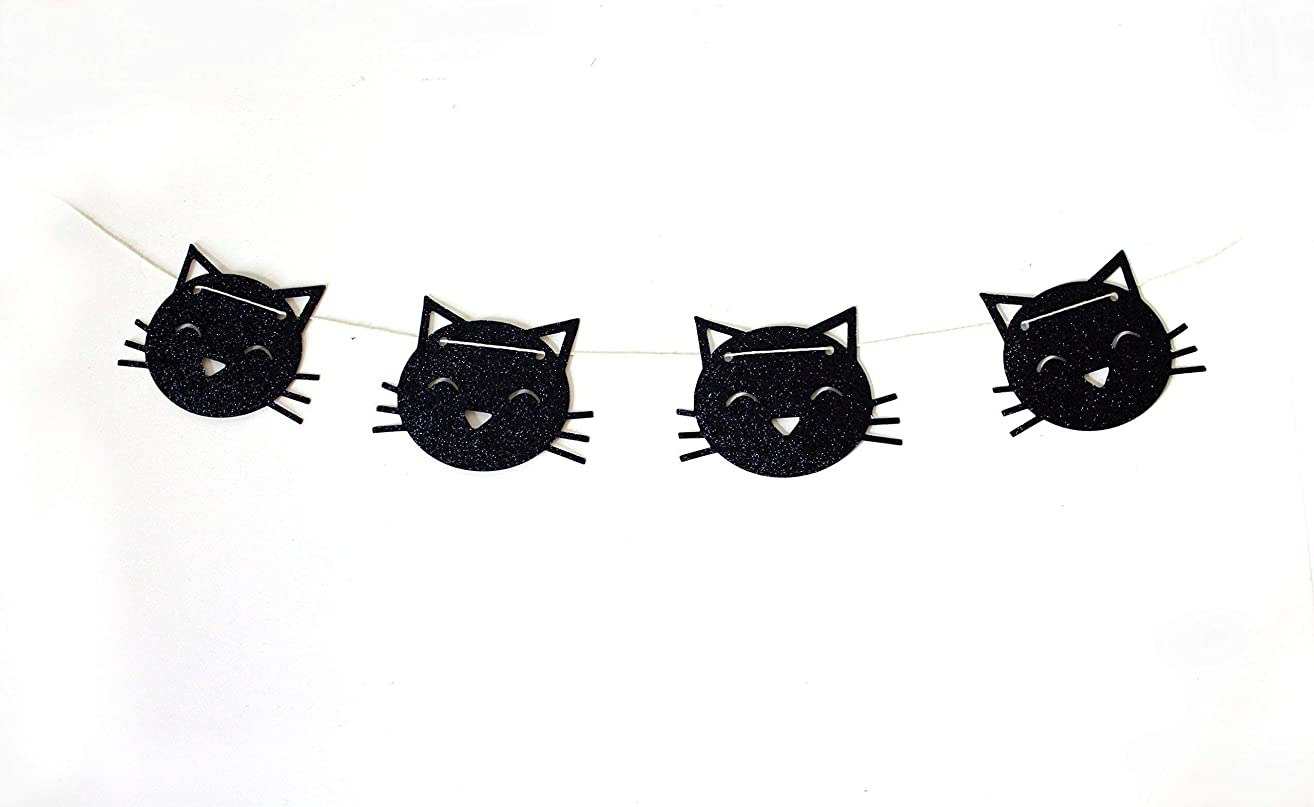 Kitty Cat Banner | Cat Party Decor | Meow Party Supplies