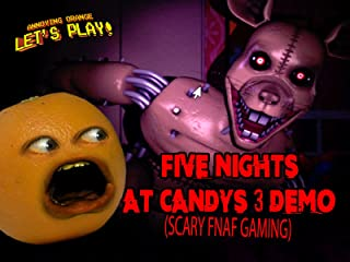 Clip: Annoying Orange Let's Play - Five Nights at Candy's 3 Demo (Scary FNAF Gaming)