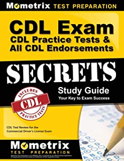CDL Exam Secrets - CDL Practice Tests & All CDL Endorsements Study Guide: CDL Test Review for the Commercial Driver's License Exam