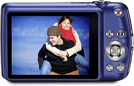 Casio Exilim Ex Z330 Digitalkamera 2 7 Zoll Blau Kamera