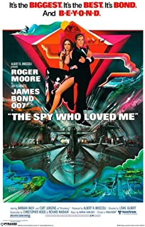 Pyramid America James Bond The Spy Who Loved Cool Wall Decor Art Print Poster 12x18