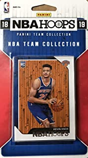 ebc57a4a3 New York Knicks 2018 2019 Hoops Basketball Factory Sealed 8 Card NBA  Licensed Team Set with