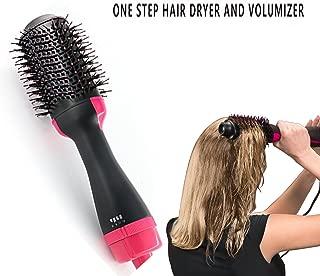 One-Step Hair Dryer & Volumizer Styler, Salon Hot Air Paddle Styling Brush Negative Ion Generator