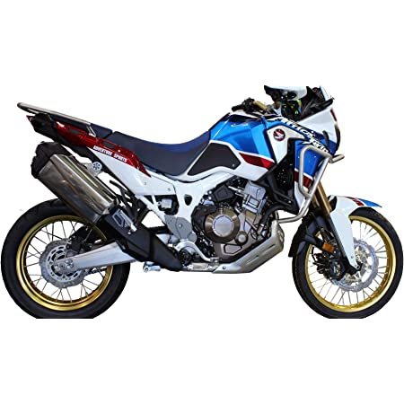 Protector adhesivo resinado compatible para Honda Africa Twin CRF 1000 L tap/ón dep/ósito 5 pernos moto