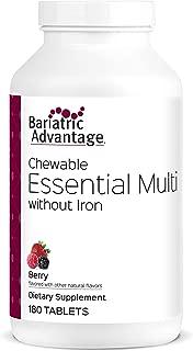 Bariatric Advantage Complete Multi Formula Chewable Berry Flavor 180 ct