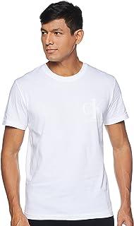 CK JEANS Men MATTE AND FLOCK MONO T-Shirt
