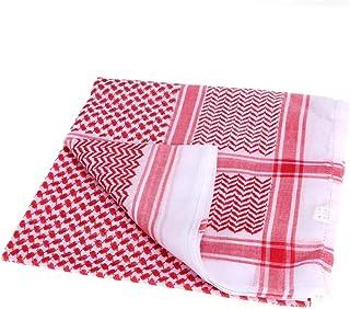 VALICLUD Arabic Men Cover Shawls Scarf Middle East Keffiyeh Arabia Headscarf Saudi Headwear Scarves