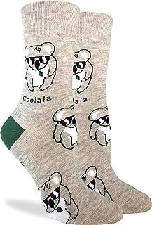 Women's Coolala Koala Socks - Grey, Adult Shoe Size 5-9