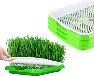 Seed Sprouter Tray BPA Free Bean Sprout Grower Germination Kit