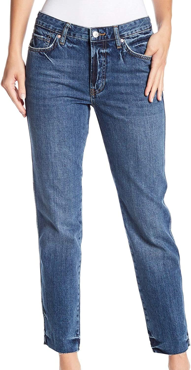 We The Free Womens Distressed Jeans Denver Mall Shipping included Button Fly Boyfriend
